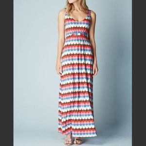 Boden | Multicolor Jersey Maxi Dress